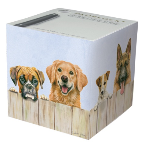 Notepad Cube 800 Sheets - Nosy Neighbours
