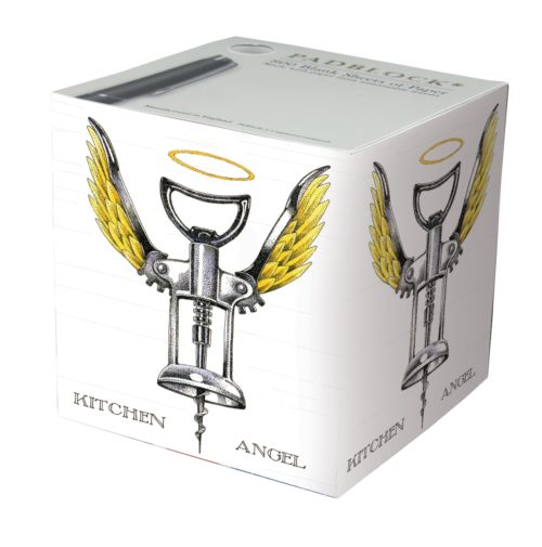Notepad Cube 800 Sheets - Kitchen Angel by Simon Drew