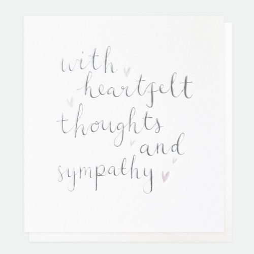 Caroline Gardner - Heartfelt thoughts