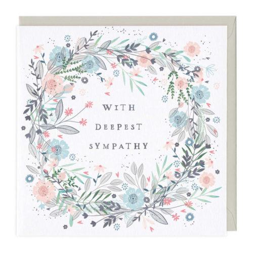 Whistlefish Collection Card - With Deepest Sympathy