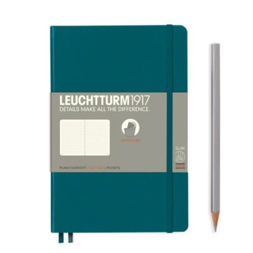 Leuchtturm Softcover Notebook - Pacific, Dotted, B6+