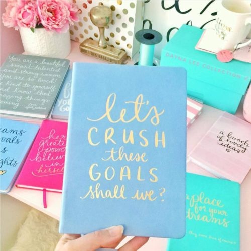 Let's Crush These Goals Journal