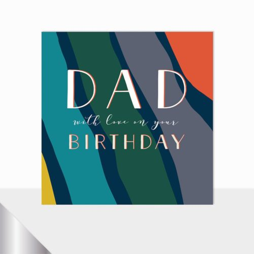 Glow Collection Card - Happy Birthday Dad