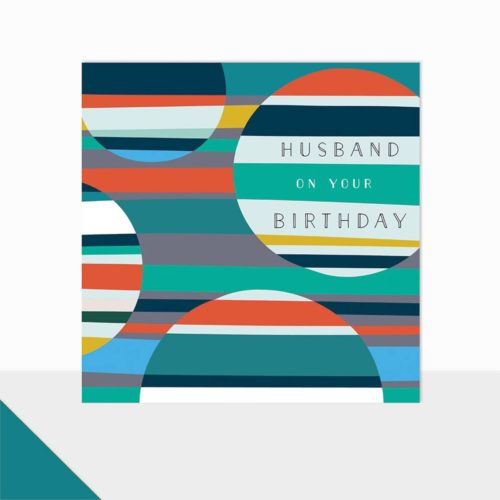 Glow Collection Card - Happy Birthday Husband