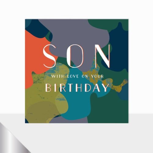Glow Collection Card - Happy Birthday Son