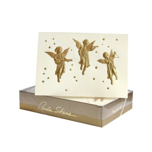 Luxury Boxed Christmas Cards – Three Angels