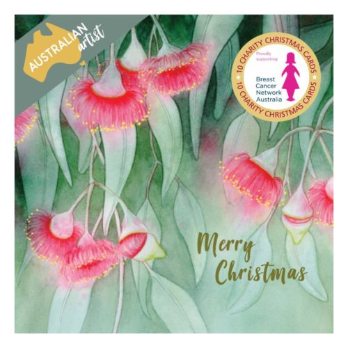 Charity Christmas Card Wallet - BCNA - Flowering Gum