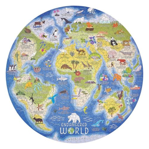 Ridley's 1000 Piece Puzzle - Endangered World