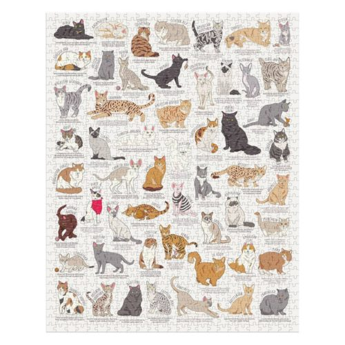The Cat Lover's 1000 Piece Jigsaw Puzzle
