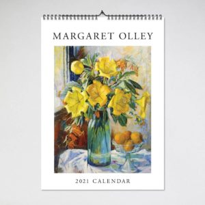 Blue Island Press Wall Calendar 2021 – Margaret Olley