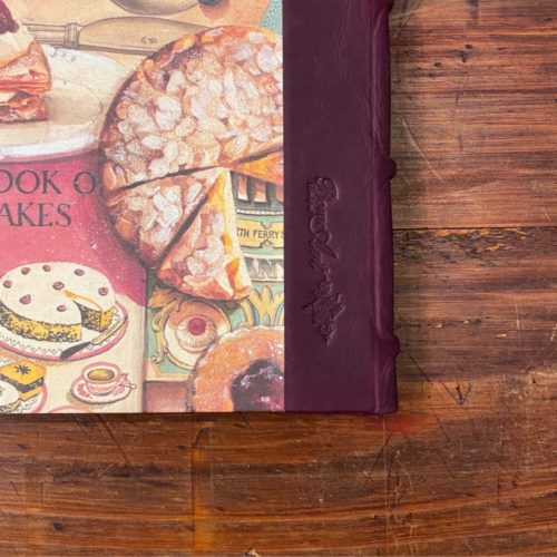 Handcrafted Recipe Journal - Cake Factory