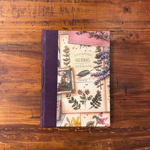Handcrafted Recipe Journal - Herbs
