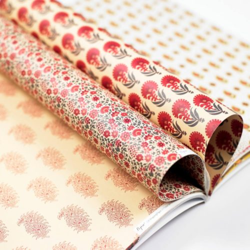 Gift and Creative Papers Book Vol. 52 - INDIAN PATTERNS