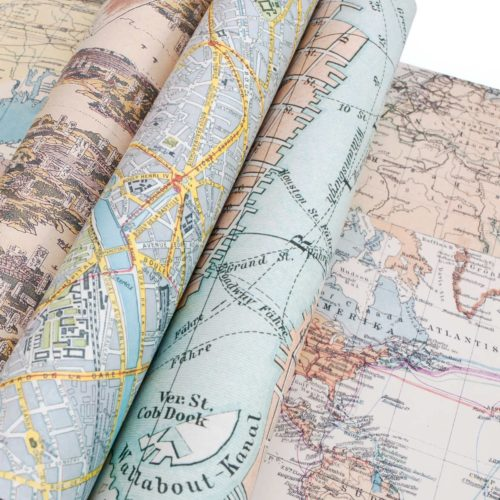 Gift and Creative Papers Book Vol. 60 - MAPS