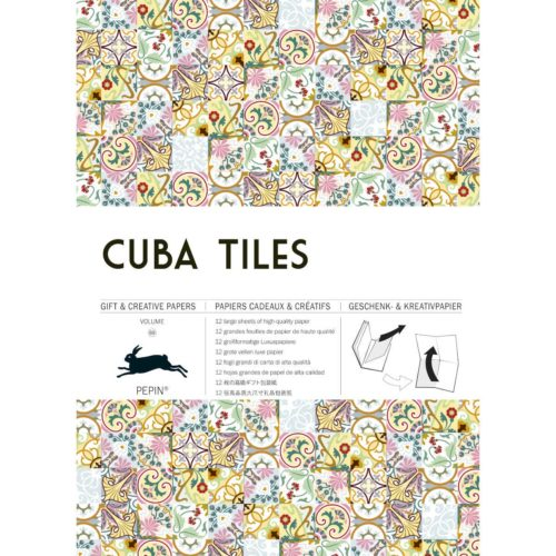 Gift and Creative Papers Book Vol. 69 - CUBA TILES
