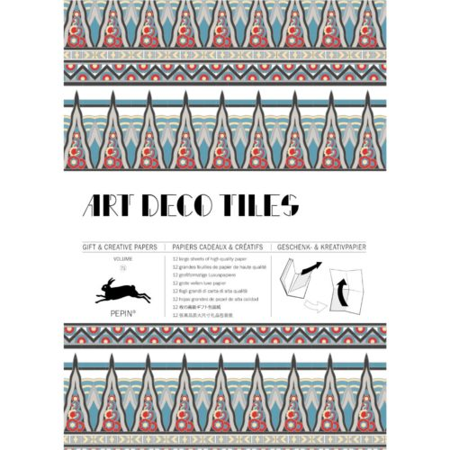 Gift and Creative Papers Book Vol. 71 - ART DECO TILES