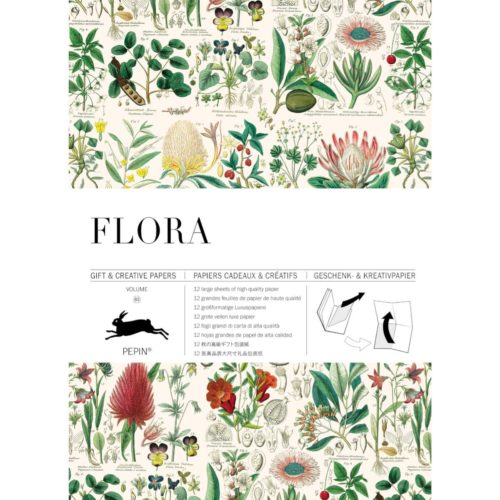 Gift and Creative Papers Book Vol. 85 - FLORA