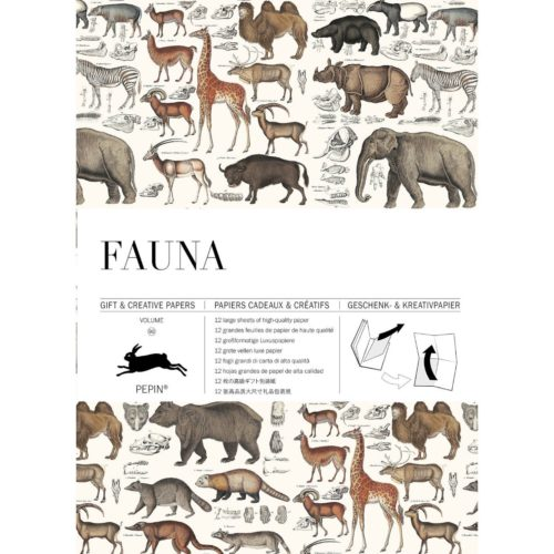 Gift and Creative Papers Book Vol. 90 - FAUNA