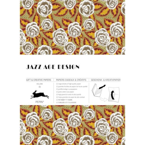 Gift and Creative Papers Book Vol. 99 - JAZZ AGE DESIGN