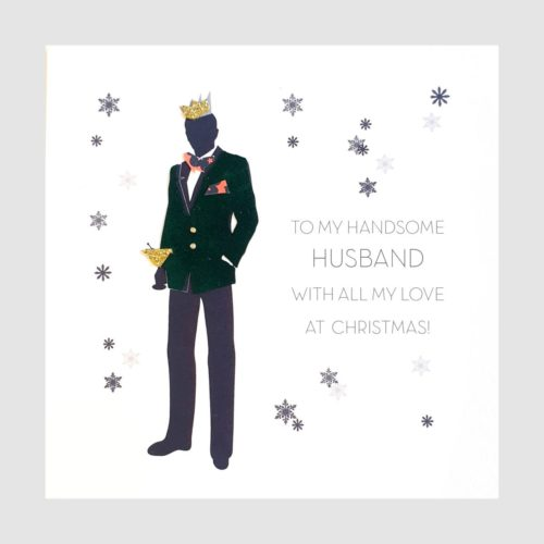 Souvenir d'Noel Christmas Card - Handsome Husband