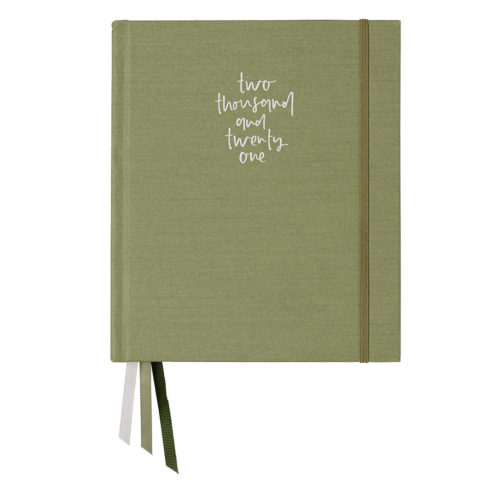 Emma Kate Co. 2021 Weekly Planner - Sage