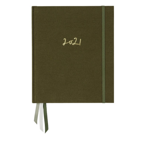 Emma Kate Co. 2021 Weekly Planner - Olive