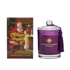 Wavertree & London Candle – Christmas Pudding
