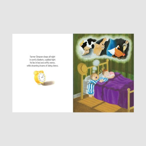 Book - Simpson's Sheep Just Want To Sleep