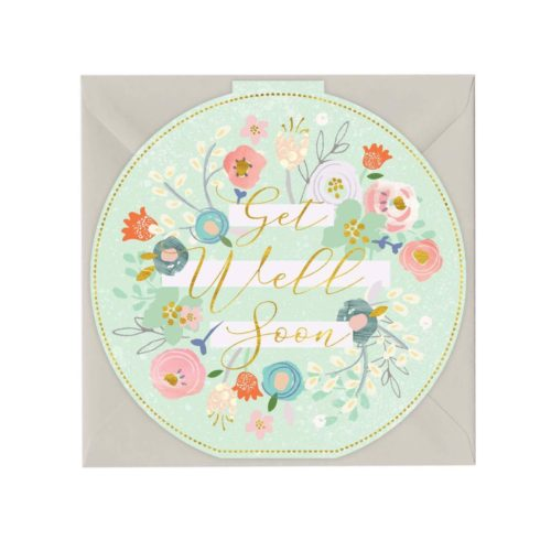 Whistlefish Card - Get Well Soon
