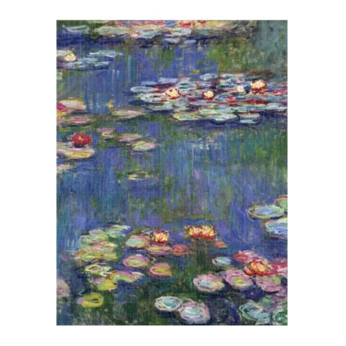 Monet 500 Piece Two Sided Puzzle