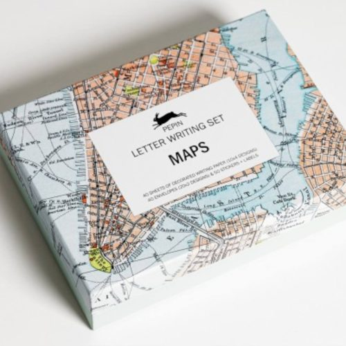 Letter Writing Set - Maps