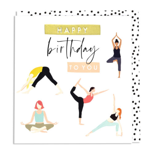 Aura Card - Happy Birthday To You Yoga