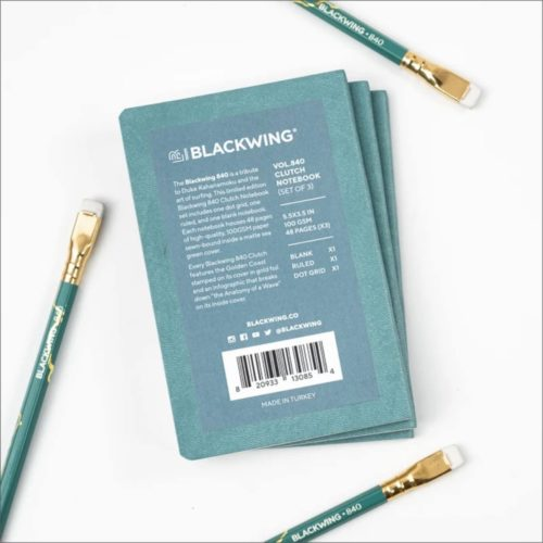 Blackwing 840 Special Edition Clutch Notebook Set of 3