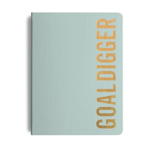 MiGoals - 2021 Bold Goal Digger Diary - Weekly Action - B5 - Soft Cover - Mint