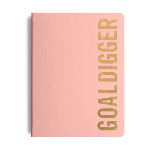 MiGoals - 2021 Bold Goal Digger Diary - Weekly Action - B5 - Soft Cover - Soft Pink
