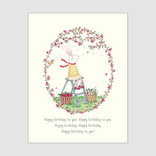 Ruby Red Shoes Card - Happy Birthday To You