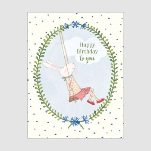 Ruby Red Shoes Card - Birthday Swing