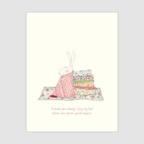 Ruby Red Shoes Card - Friends