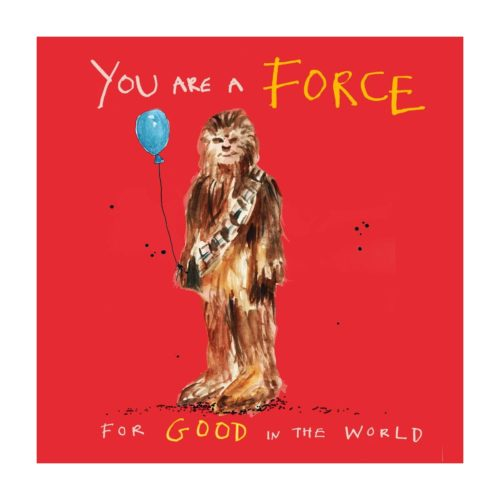 Poet and Painter Card - Force For Good