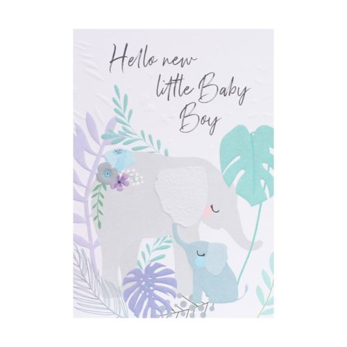 Wild Thing Card - New Baby Boy
