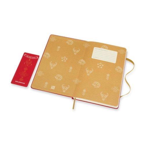 Moleskine - Limited Edition - Year Of The Ox Notebook - Ruled - Large - Graphic 1