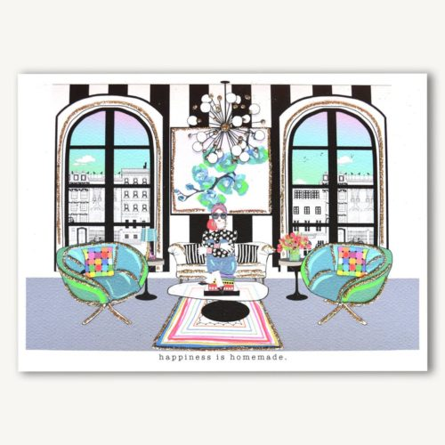 Verrier Card - Happiness is Homemade