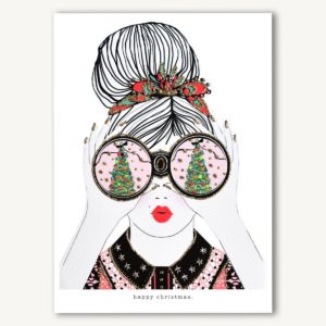 Verrier Card – Happy Christmas