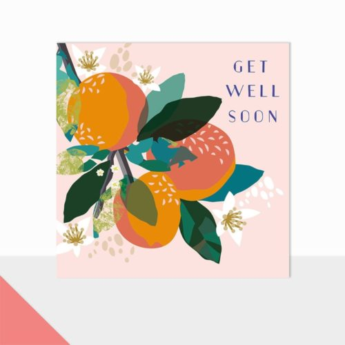Glow Collection Card - Get Well Soon Fruits