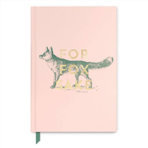 Designworks Vintage Sass Notebook - For Fox Sake