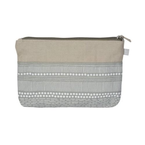 Rader Cotton Cosmetic Bag - Stripes
