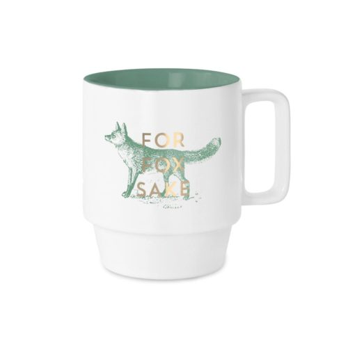 Vintage Sass Mug - For Fox Sake