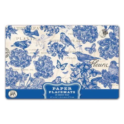 Michel Design Works Placemats - Indigo Cotton