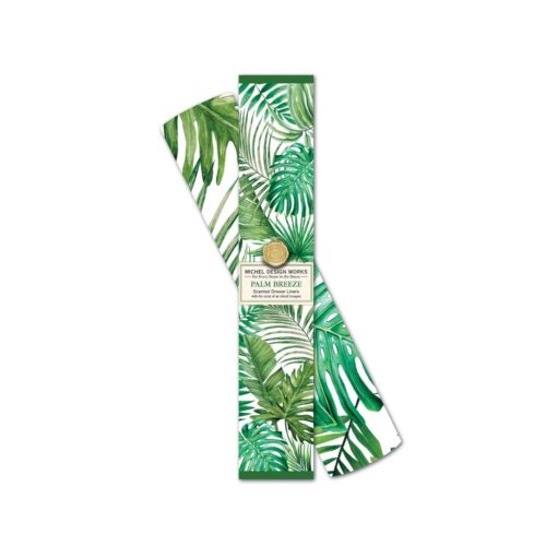 Michel Design Works Drawer Liners - Palm Breeze