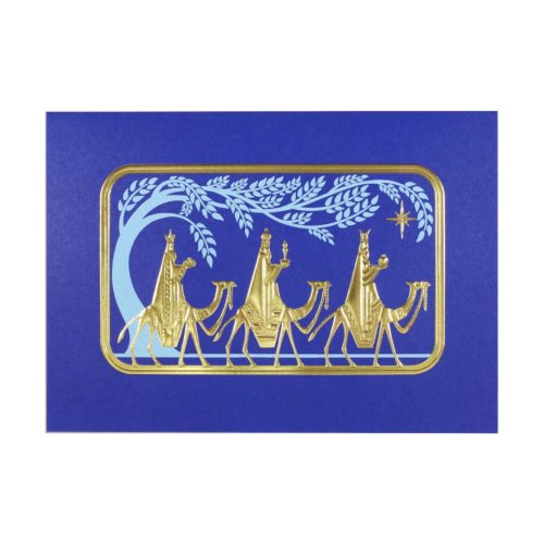 Deluxe Boxed Christmas Cards - We Three Kings